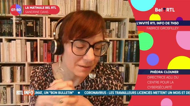 Phédra Clouner - L'invité RTL Info de 7h50