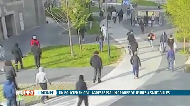 Un policier lynché par une bande de jeunes à St-Gilles