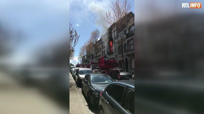 Laeken: deux enfants décèdent dans un incendie