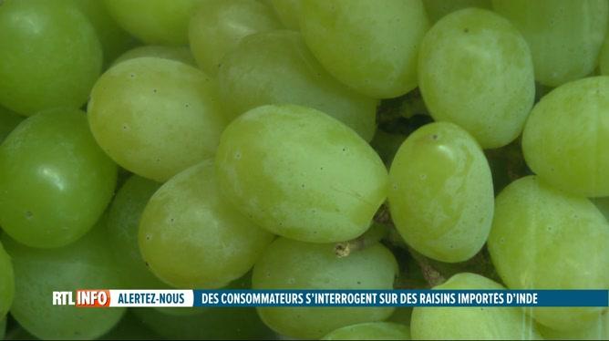 Les raisins importés d'Inde peuvent-ils contenir le variant indien du coronavirus ?