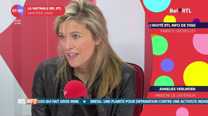 Annelies Verlinden - L'invité RTL Info de 7h50