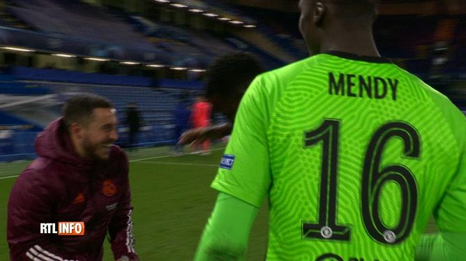 Une image qui passe mal: Eden Hazard surpris en train de rigoler avec les joueurs de Chelsea après l'élimination