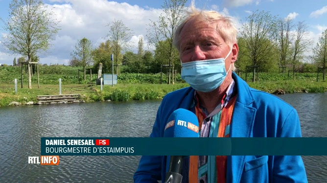 Une partie du canal de l'Espierre à Estaimpuis transformée en zone de baignade cet été:
