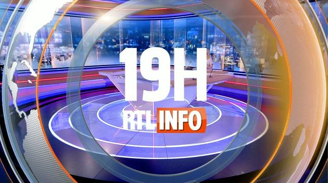 Les titres du RTLInfo 19H