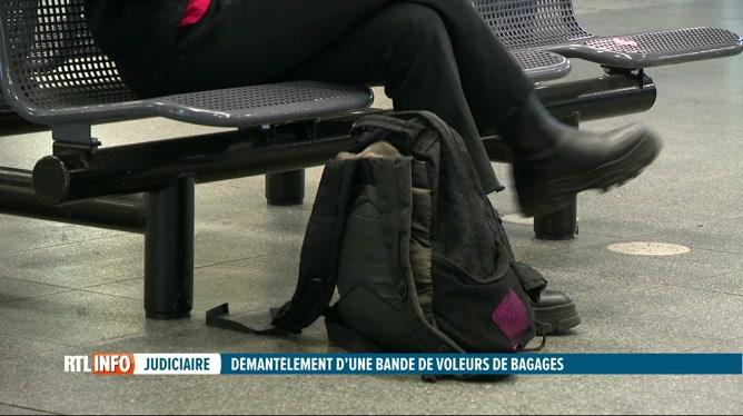 Démantèlement d'une bande de voleurs de bagages à Bruxelles