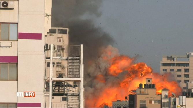 Conflit israélo-palestinien: les tirs de roquettes s'intensifient
