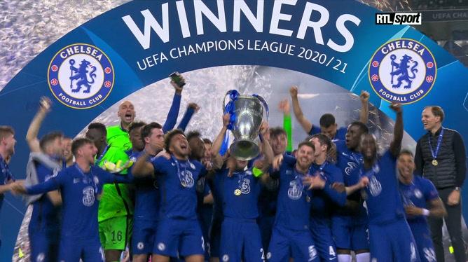 Chelsea soulève le trophée de la Ligue des Champions