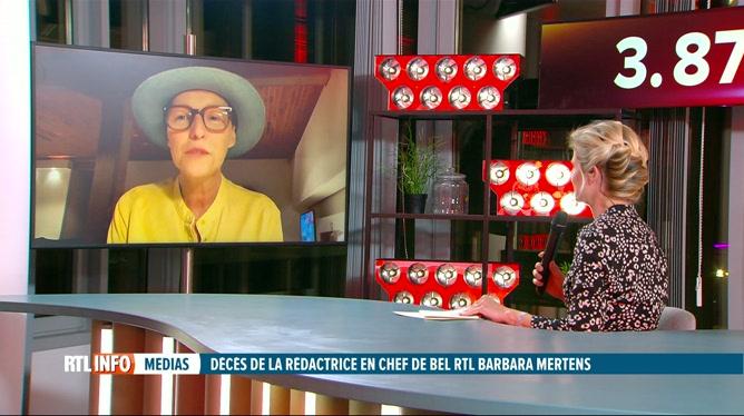 Barbara Mertens, rédactrice en chef de Bel RTL, est décédée