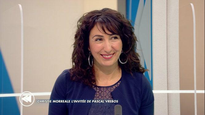 C'est pas tous les jours dimanche: Pascal Vrebos reçoit Christie Morreale