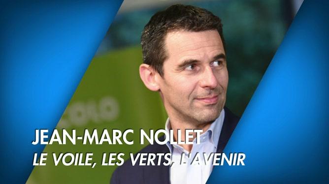 C'est pas tous les jours dimanche: Jean-Marc Nollet: le voile, les verts, l'avenir