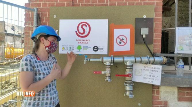 Contre le gaspillage: réutiliser l'eau des chantiers à Bruxelles