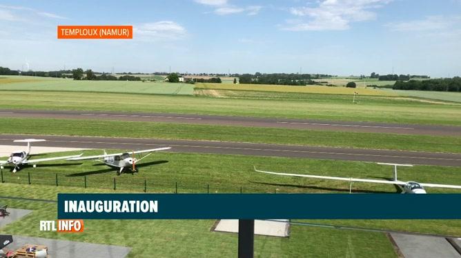 L'aérodrome de Temploux inauguré