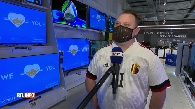 Euro 2020: les ventes de télévisons ont doublé dans certains magasins