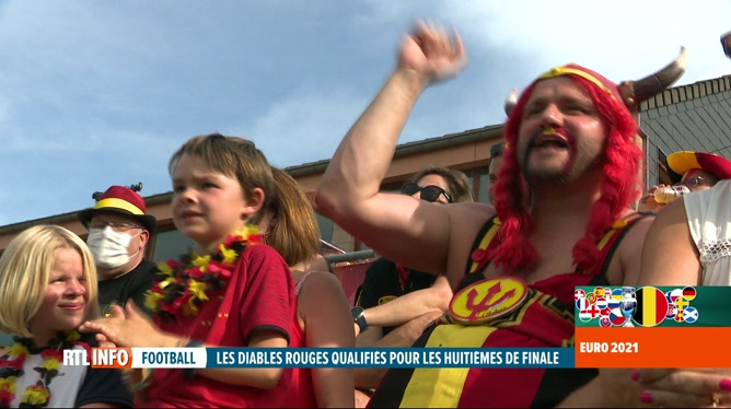 Euro 2020: Danemark-Belgique, les supporters en ont vu de toutes les couleurs