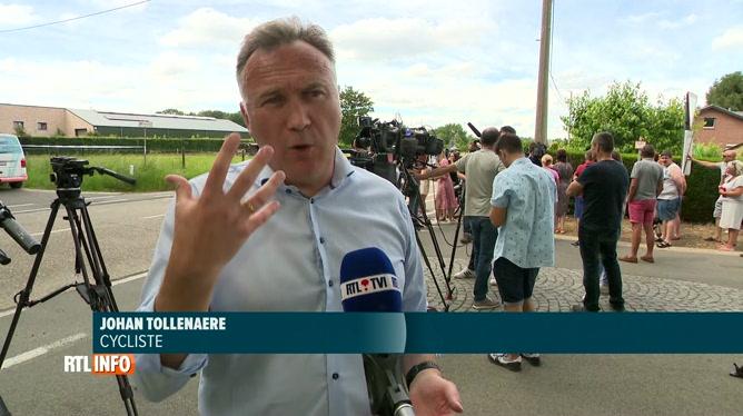 Jürgen Conings retrouvé sans vie: l'un des cyclistes, raconte la découverte du corps