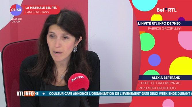 Alexia Bertrand - L'invité RTL Info de 7h50