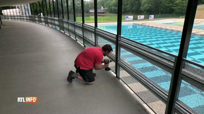 Réouverture du centre aquatique de Charleroi-les-Bains après 10 mois de travaux