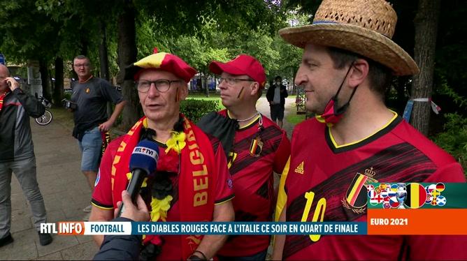 Euro 2020, Belgique-Italie: 1.900 supporters belges ont accès au stade