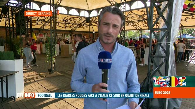 Euro 2020, Belgique-Italie: chacun espère la victoire de son équipe
