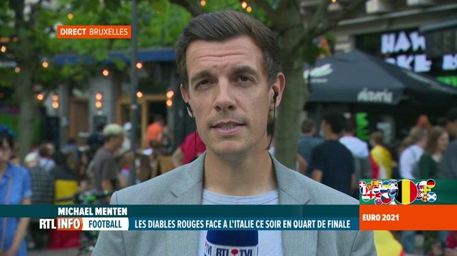 Euro 2020, Belgique-Italie: Ixelles va réguler l'affluence des supporters
