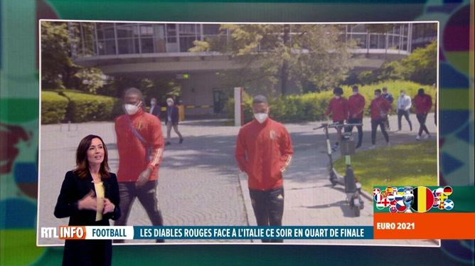 Euro 2020, Belgique-Italie: Eden Hazard et Kevin De Bruyne au rendez-vous?