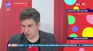 Simon Dellicour - L'invité RTL Info de 7h50