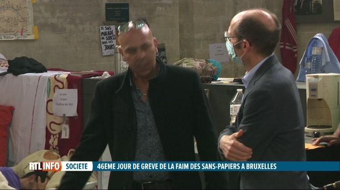 Sans-papiers en grève de la faim: le rapporteur spécial de l'ONU à Bruxelles