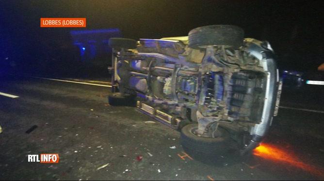 Un double accident fait plusieurs blessés à Lobbes