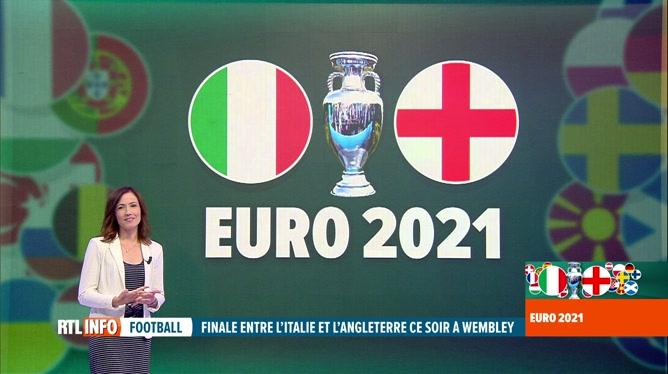 Euro 2020, la finale : le point sur le match Italie-Angleterre