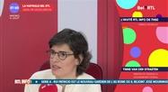 Tinne Van Der Straeten - L'invité RTL Info de 7h50