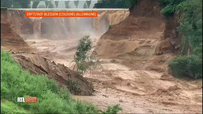 Inondations: au moins 81 personnes sont décédées en Allemagne