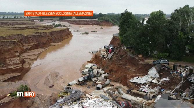 Inondations: l'Allemagne fait état d'au moins 103 morts