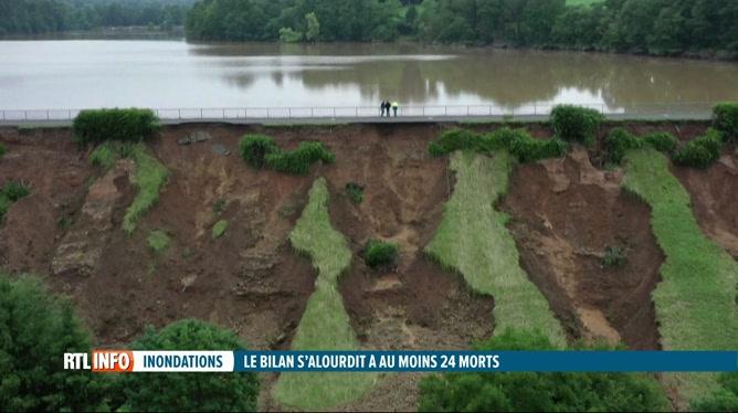 Inondations: le bilan des victimes s'alourdit en Allemagne