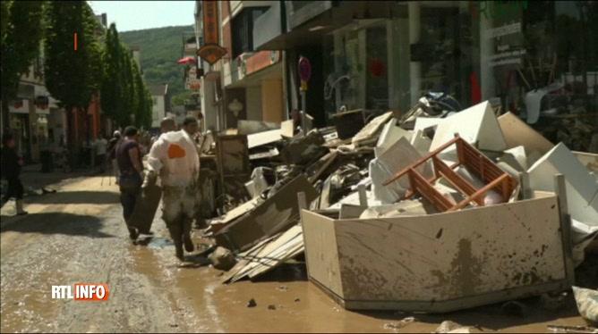 Inondations en Allemagne: au moins 165 morts, selon un dernier bilan