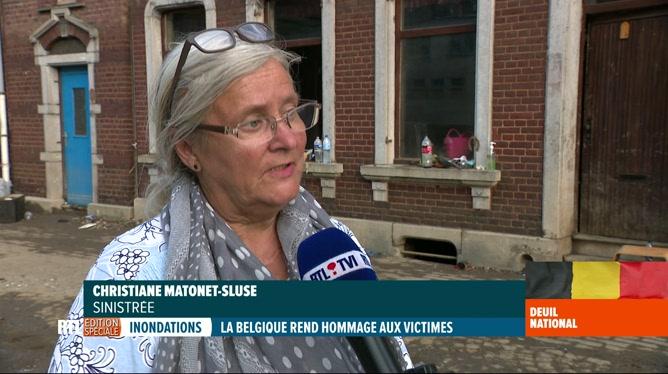 Inondations: témoignage poignant de Christiane qui a perdu sa maman