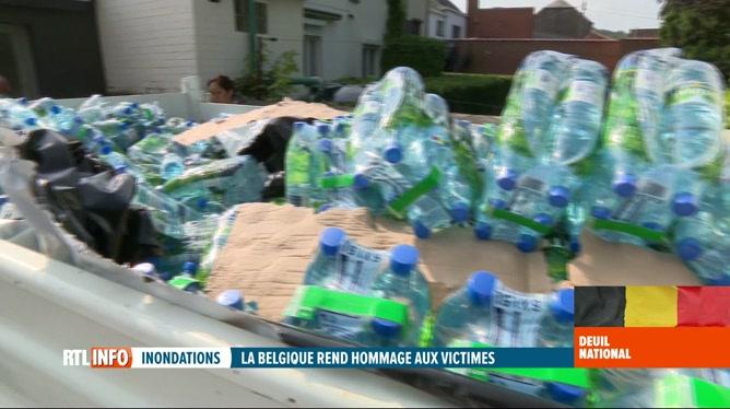 Inondations: 3.000 foyers toujours privés d'eau, surtout en Namurois