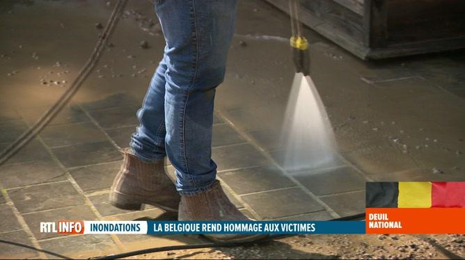 Inondations: les entreprises de nettoyage sont fortement sollicitées