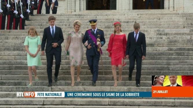 Fête nationale: Te Deum en présence de la famille royale à Bruxelles