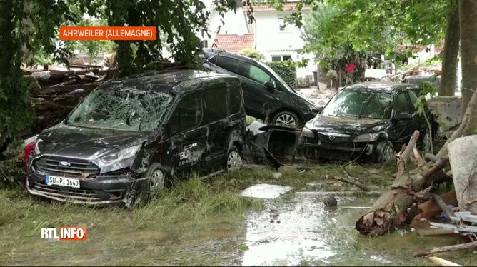 Le bilan humain des inondations s'est encore alourdit en Allemagne