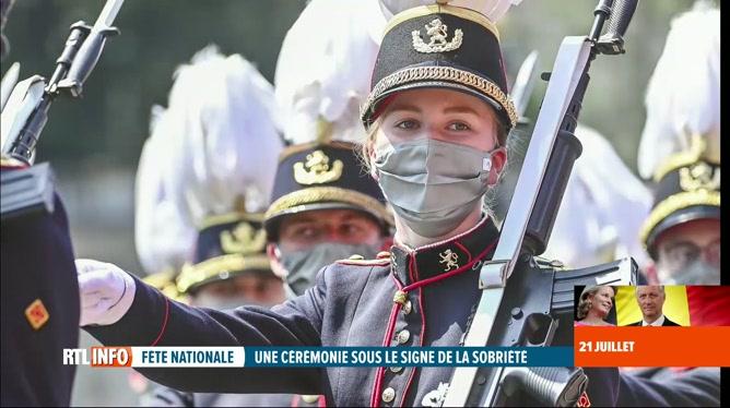 Fête nationale: deux princesses ont attiré l'attention lors du défilé