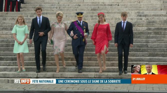 Fête nationale: le Te Deum a réunit la famille royale à Bruxelles