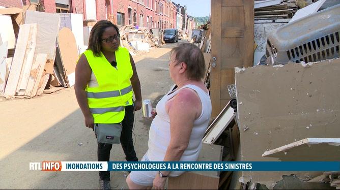 Inondations: des psychologues vont à la rencontre des sinistrés