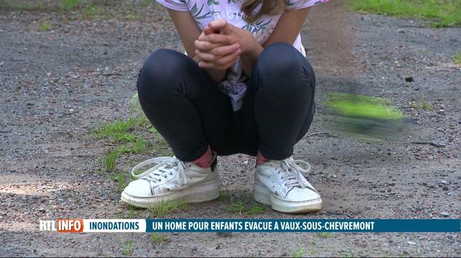 Inondations: des jeunes d'un home pour enfants ont du être évacués