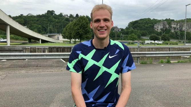 Eliott Crestan, coureur belge du 800m, se confie avant les Jeux Olympiques