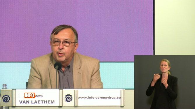 La dernière conf' d'Yves Van Laethem: