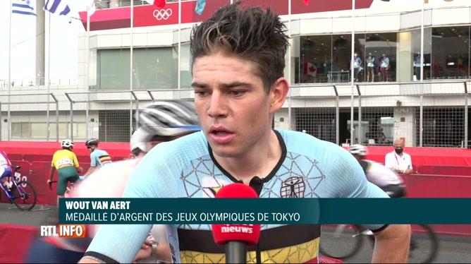JO de Tokyo, cyclisme: Wout van Aert médaille d'argent, Carapaz champion olympique