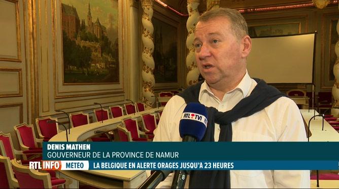 Inondations: tous les camps sous tentes interdits en province de Namur