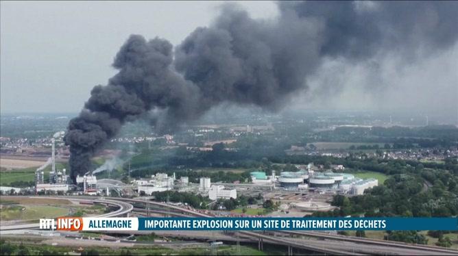 Enorme explosion sur un site chimique à Leverkusen: 1 mort, 4 disparus