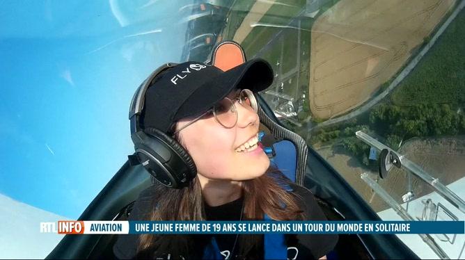 Zara, 19 ans, veut faire le tour du monde en solitaire en avion