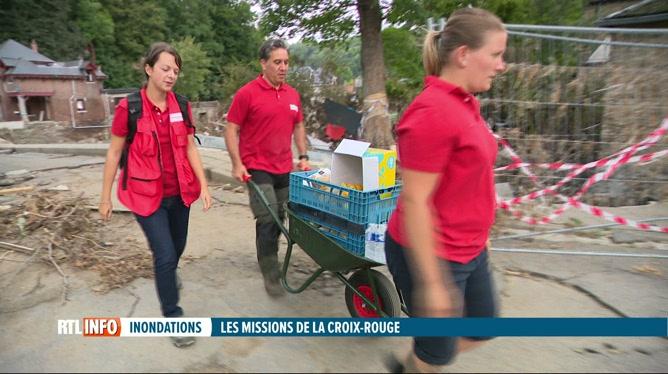Inondations: focus sur le fonctionnement et le travail de la Croix-Rouge